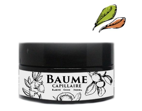 Baume capillaire karité, jojoba et coco de jalya nature pour le soin des cheveux crépus. A base d'ingrédients issus de l'agriculture